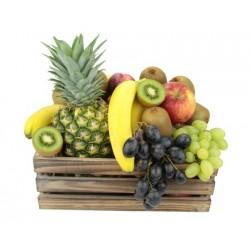 Panier de fruits biologiques familial
